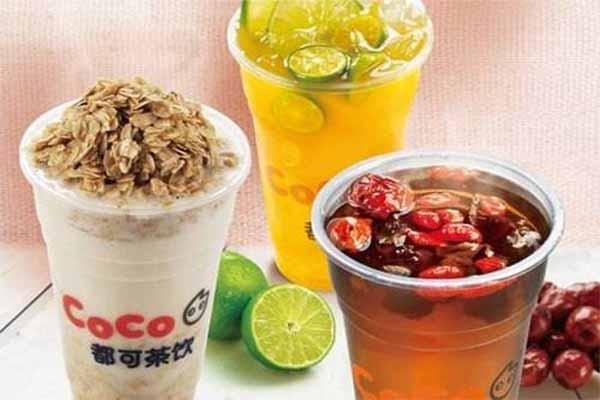 coco都可燕麦奶茶